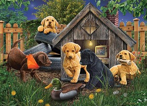 In The Dog House 1000 piece puzzle