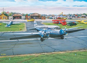 Municipal Airport 1000 piece puzzle