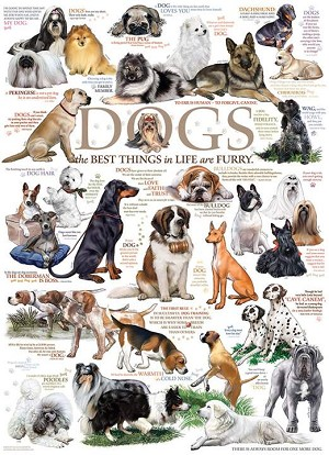 Dog Quotes 1000 pieces