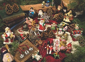 Christmas Ornaments 275 piece puzzle