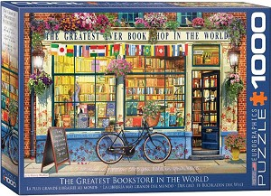 The Greatest Bookstore In The World 1000 Pieces