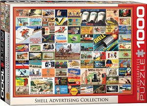 Shell Advertising Collection 1000 Pieces