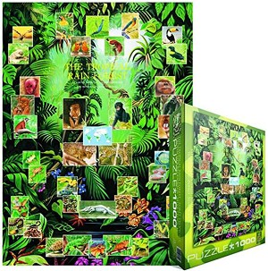 The Tropical Rain Forest 1000 Pieces