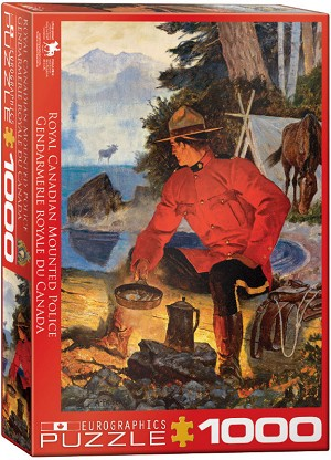 RCMP Morning Campfire 1000 Pieces
