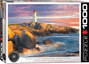 Peggy's Cove Lighthouse NS 1000 Pieces