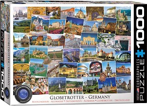 Globetrotter Germany 1000 Pieces