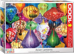 Asian Lanterns 1000 Pieces