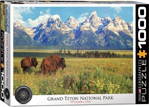 Grand Teton Nat. Park 1000 Pieces