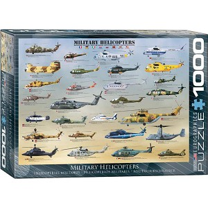 Military Helicopters 1000 Pieces