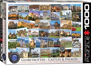 Castles and Palaces Globetrotter 1000 Pieces
