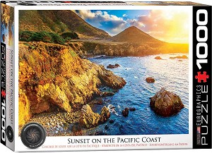 Sunset On The Pacific Coast