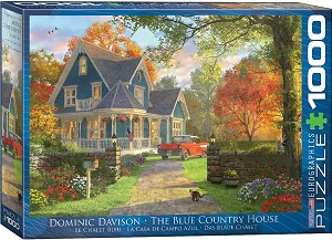 Blue Country House